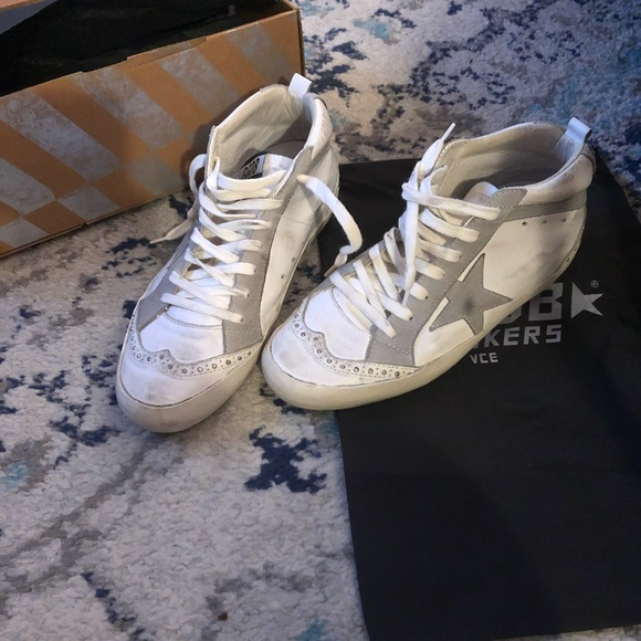 ccd26eb4f26d Golden Goose Shoes - Golden Goose Deluxe Brand Mid Star Sz 38  510